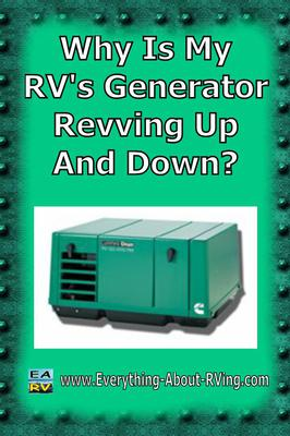 Why Is My RV's Generator Revving Up And Down?