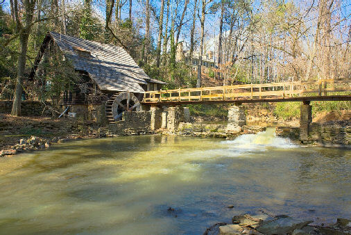 Alabama Old Mill Photo by Robert Donovan