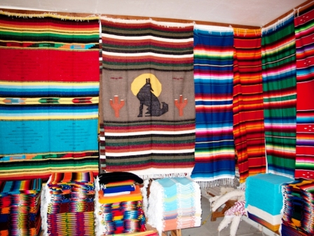 Factory of Mexican Blankets