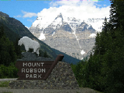 Mount Robson Park British Columbia