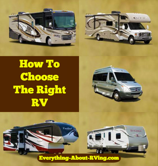 How To Choose The Right RV