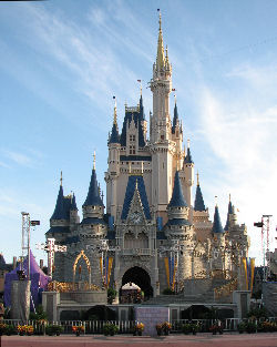 Cinderella's Castle Disney World. Photo By Benjamin Esham