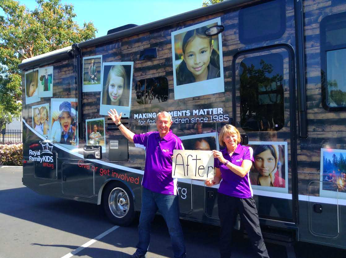 A Joyful RV Road Trip For Foster Children