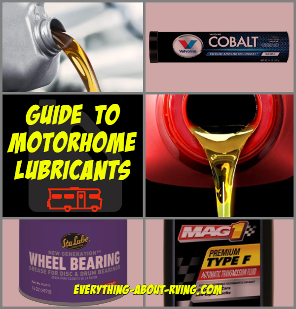 Guide to Motorhome Lubricants