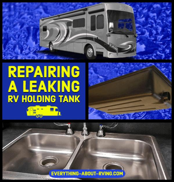 Repairing a Leaking RV Holding Tank