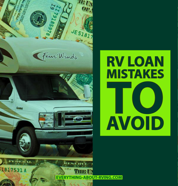 RV Loan Mistakes to Avoid