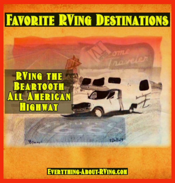 RVing the Beartooth All American Highway