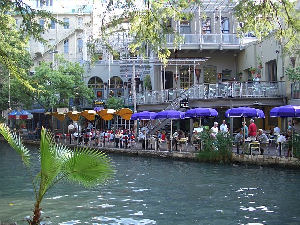 The Riverwalk in San Antonio Texas