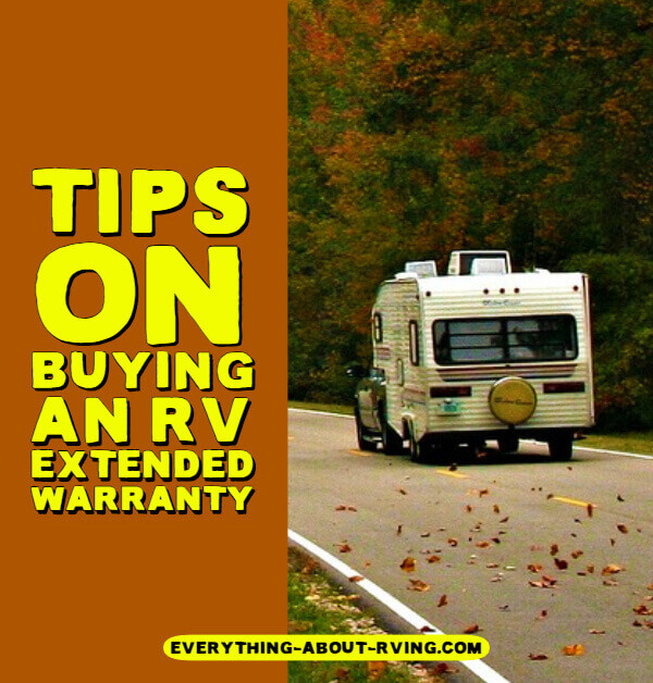Tips On Buying An RV Extended Warranty