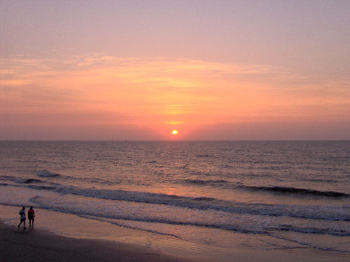 Tybee Island Sunrise In Georgia Photograph By Brian Stansberry