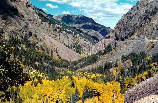Ucompahgre Gorge Colorado Camping In Colorado