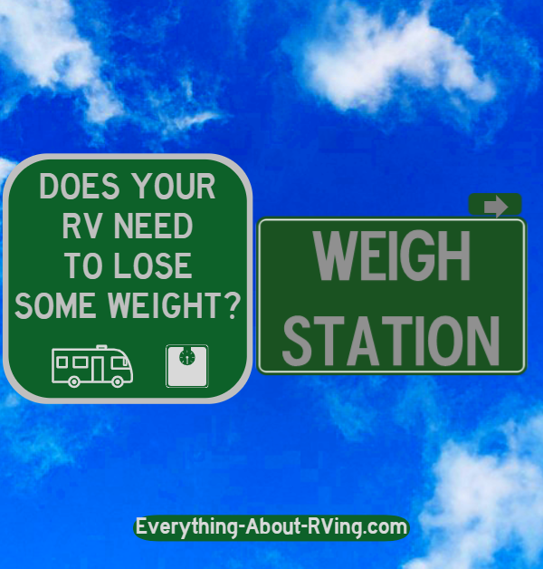Weighing Your RV Does Yours Need To Lose Some Weight?