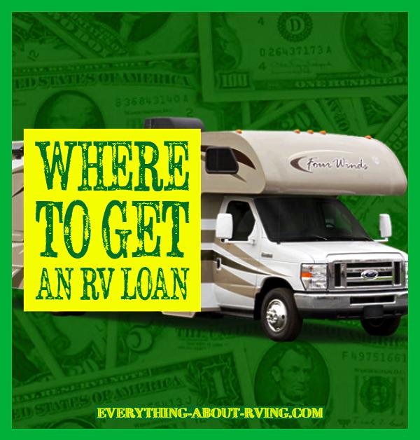Where to Get an RV Loan
