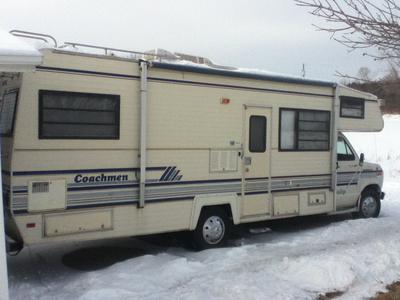 Our RV (Earthship) Gus Gus