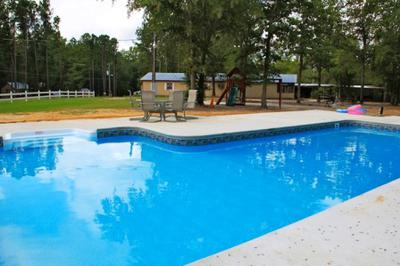 The Pool at at Hillside Family RV Park