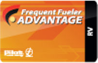 Pilot Flying J  Frequent Fueler Advantage Card for RV Owners
