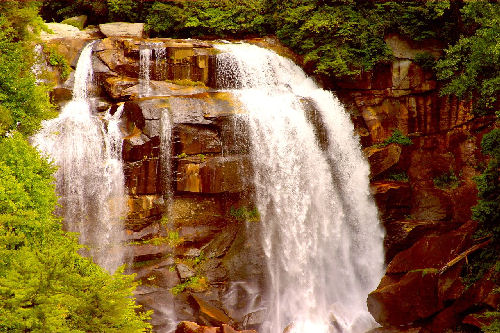 Whitewater Falls In North Carolina Photo by Gary Stevens