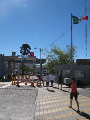 Crossing At Tecate