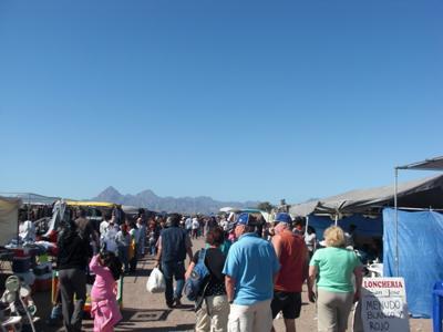 Sunday Market at Loreto