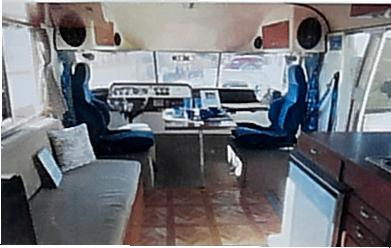 The Whale RV inside