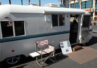 The Whale RV Exterior
