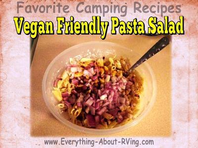 Vegan Friendly Pasta Salad Ready To Stir