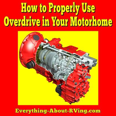 How to Properly Use Overdrive in Your Motorhome