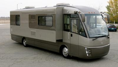 Pictured 2009 RexAir Motorhome by Rexhall Indurstries