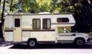 Pictured 1984 Toyota Dolphin Mini-Motorhome