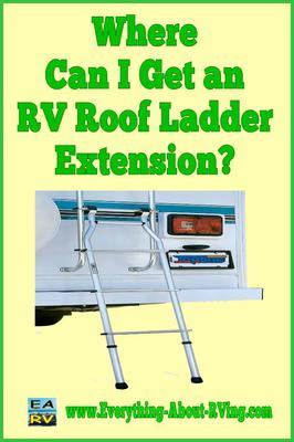 Pictured Above Top Line AL1110 Universal RV Assist Ladder
